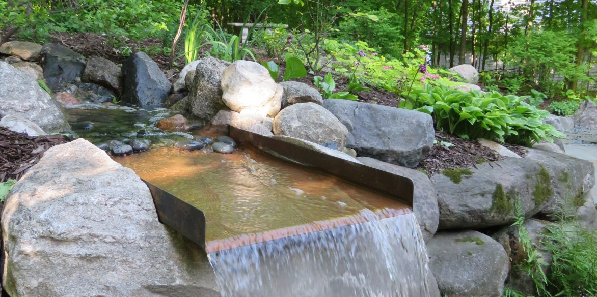 Copper Water Fall